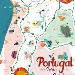map_portugal Pinterest